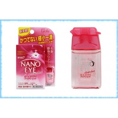 Капли Nano Eye Clearshot Lycee, Rohto, 6 мл.