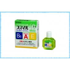 Глазные капли Lion Smile EX 40 Mild, Lion, 15 мл.