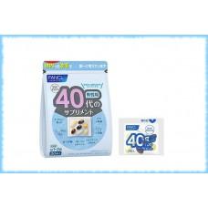 Витаминный комплекс для мужчин для возраста 40-50 лет, Fancl, на 10-30 дней