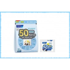Витаминный комплекс для мужчин для возраста 50-60 лет, Fancl, на 10-30 дней