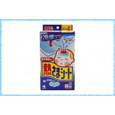 Детские пластыри от температуры Netsu Sama, Kobayashi, 6 штук