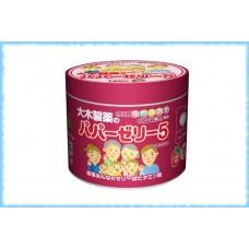 Комплекс витаминов для детей Papa Jelly 5, железная банка, 120 шт.