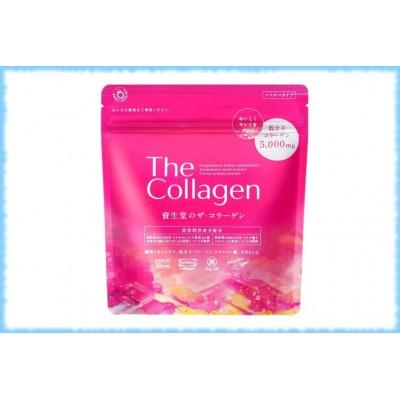 Аминоколлаген с гиалуроновой кислотой The collagen, Shiseido, на 21 день, 126 гр.