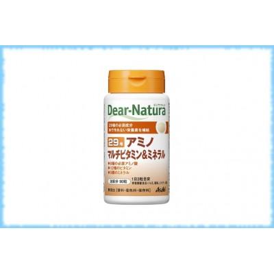 Комплекс аминокислот, витаминов и минералов Dear-Natura-29, Asahi, на 30 дней