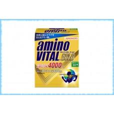 Аминокислоты AminoVital Gold 4000, Ajinomoto, 30 пакетиков