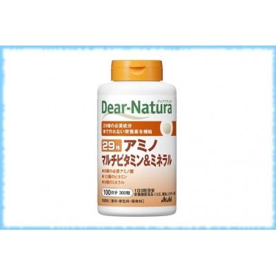 Комплекс аминокислот, витаминов и минералов Dear-Natura-29, Asahi, на 100 дней