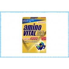 Аминокислоты AminoVital Gold 4000, Ajinomoto, 14 пакетиков