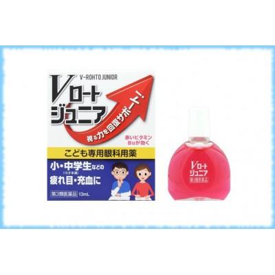Глазные капли для подростков Junior V-Rohto, Rohto, 13 мл.