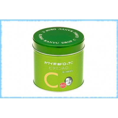 Рыбий жир в жевательных конфетах Kawai Kanyu Drop C, 150 шт.
