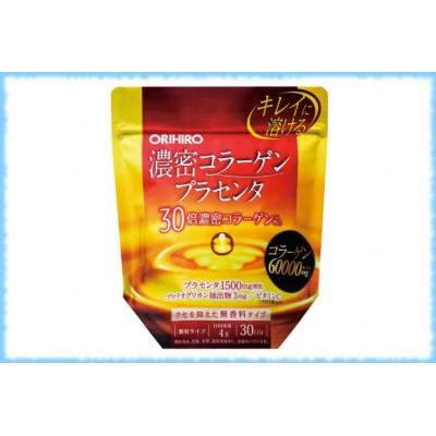 Коллаген Orihiro с плацентой, 120 гр. на 30 дней