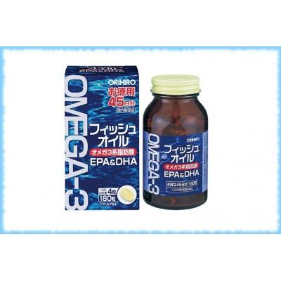 Omega-3, Orihiro, на 45 дней