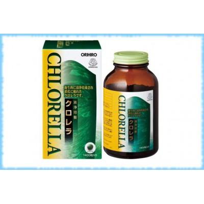 Orihiro Хлорелла, 1400 таблеток