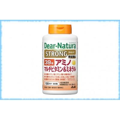 Комплекс аминокислот, витаминов и минералов Dear-Natura-39 Strong, Asahi, на 100 дней