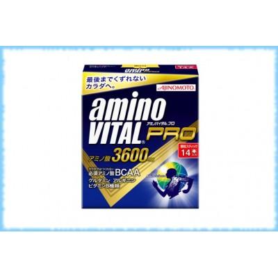 Аминокислоты BCAA Amino Vital Pro, Ajinomoto, 14 стиков