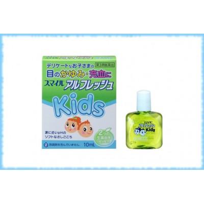 Освежающие глазные капли для детей до 15 лет Lion Smile All Fresh Kids, Lion, 10 мл.