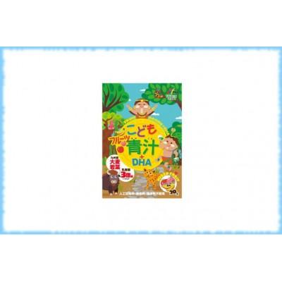 Детский фруктовый аодзиру с омега-кислотами и лактобактериями Fruit Aojiru+DHA, Unimat Riken, 20 шт.