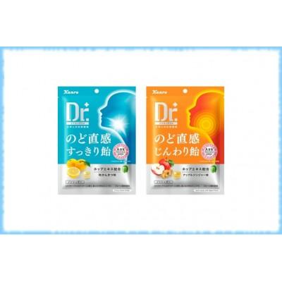 Леденцы от боли в горле с экстрактом хмеля Doctor Plus, Kanro, 55 гр.