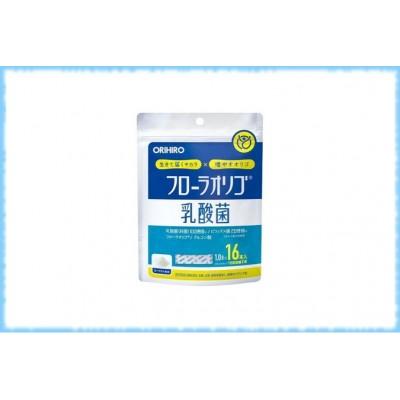 Пробиотики Flora, Orihiro, на 16 дней