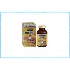 Комплекс для укрепления сердечно-сосудистой системы Nattokin Baiyou Ekisu, Kame honke, на 90 дней