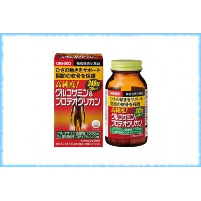Комплекс с глюкозамином и протеогликаном для опорно-двигательного аппарата High Purity, Orihiro, на 30 дней