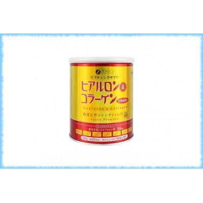 Комплекс с коллагеном и гиалуроновой кислотой Premium Hyaluron & Collagen, Fine Japan, банка, на 28 дней