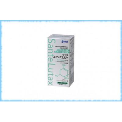 Комплекс для глаз с лютеином витаминами и минералами Sante Lutax 20V, Santen, на 30 дней