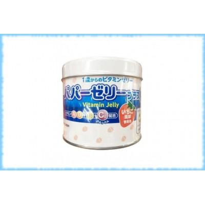 Комплекс с витаминами A, D, E и кальцием Vitamin Jelly, Ohki Pharmaceutical Co, на 30 дней