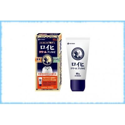 Обезболивающий согревающий крем Nichiban Roihi Cream Felbi, 80 гр.