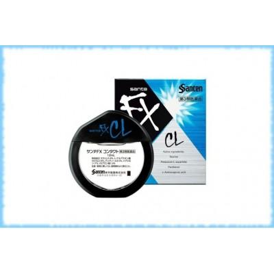 Освежающие глазные капли при усталости от ношения контактных линз Sante FX Contact, 12 мл.