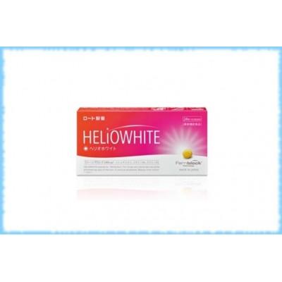 Комплекс для защиты кожи от ультрафиолетового излучения Rohto HelioWhite Fernblock, курс на 30 дней (60 таблеток)